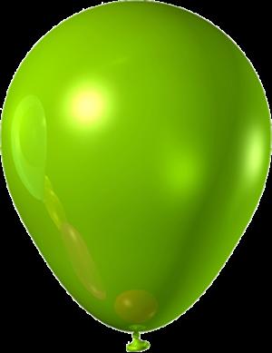 "Зеленый латексный шар  (металлик) 12"""