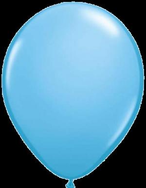 """Голубой латексный шар (металлик) 12"""""""