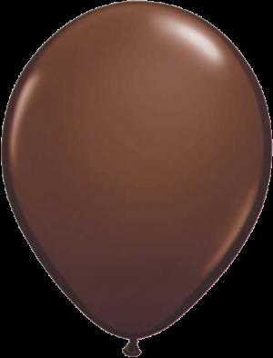 """Коричневый латексный шар (пастель) 12"""""""